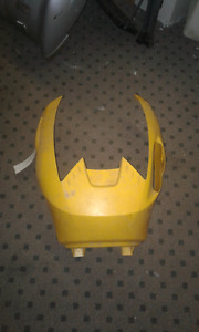 Used Can-Am Outlander Gen 1 Airbox Cover, Yellow