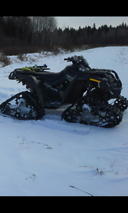 2008 can am outlander 500 original owner with or without tracks!