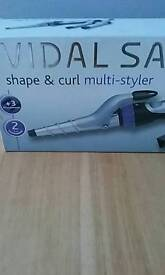 Bargain Vidal Sassoon shape and curl multi styler