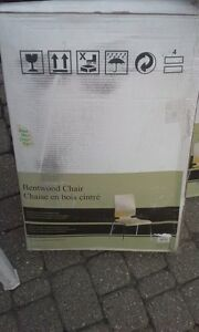 2 Brand New Bentwood Chairs Windsor Region Ontario image 2