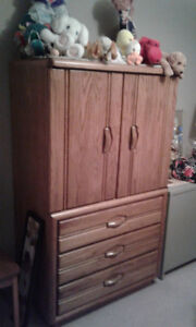 Bed Room Dresser / TV Hutch
