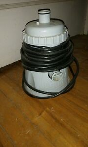 pool motor and filter
