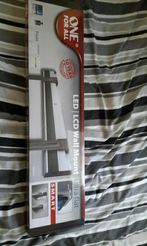 """ONE FOR ALL LED/LCD WALL MOUNT 63"""" MAX Brand New and Sealed"""