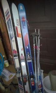 Lot of Skiing Equipment