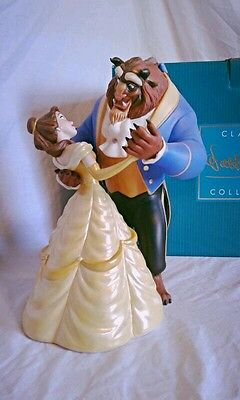 """WDCC Beauty and the Beast """"Tale as Old as Time"""" Figurine"""