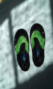 Boys water shoes. Size 1.  Worn once.  $3.00.  Pick up in Sussex