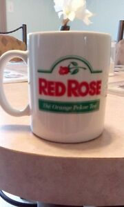 WANTED RED ROSE TEA MUG