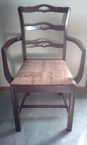 Antique Wood chairs
