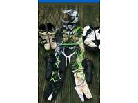 WANTED Kids motorcross/quad protective clothing. Need ASAP
