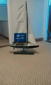 Yaght model replica