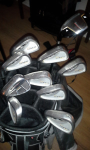 LEFTY - ASSORTED GOLF CLUBS- COBRA