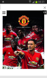 Man United 2018 calendar