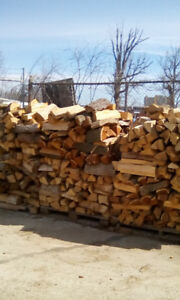 Hardwood firewood for sale by the cord
