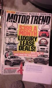 Magazine automobile Motor Trend 2011 à 2017