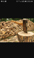 cash work cutting and delivering Firewood must have truck