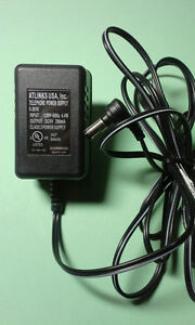 ATLINKS Adapter/Charger/Power Supply Model 5-2616 9V DC 200mA