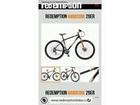 Man's redemption downhill mountain bike