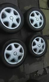"""15""""Vauxhall alloys"""