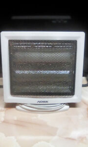 NOMA 750/1500 radiant heater -  CLEAN & WORKS PERFECTLY