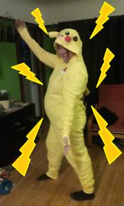 Pikachu Onesie - Costume/PJs