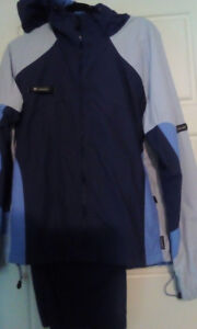 Womens Columbia waterproof 2pc. Track suit