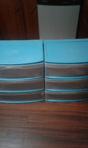 2 drawer storage totes