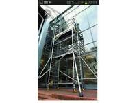 Tower scaffold service