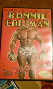 RONNIE COLEMAN THE UNBELIEVABLE DVD