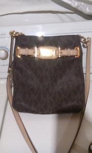 Leather Michael Kors purse