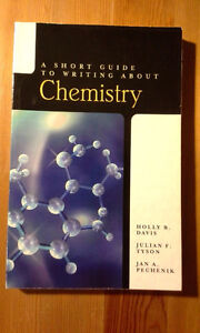 CHM1311/1711--Guide to writing about chemistry, $20