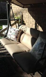 Outdoor 7 piece Dining Setting with matching Patio Swing Frankston Frankston Area Preview