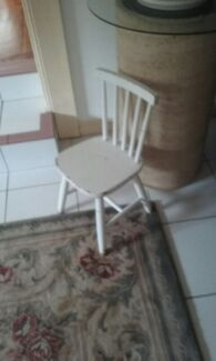 Child wooden chair vintage suit 1-5yr old