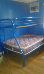 Tubular Steel bunk beds