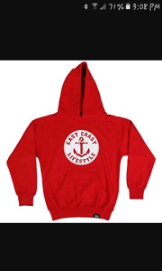 East coast lifestyle sweater red