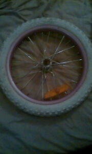 *IF STILL UP ITS AVAILABLE* 16 inch front bicycle tire and rim