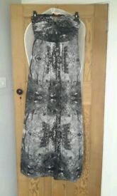 Ted Baker maxi dress worn once size 10