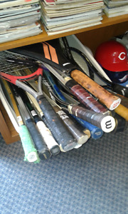 Large Vintage and newer tennis racquets  ($8 each) 90% off