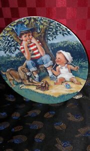 Children's Hour- First Edition 1981 Official Babysittng- Plate
