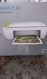 HP Deskjet 2134 printer. Excellent condition. Hardly used.