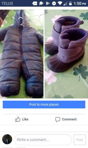 Baby boy winter gear-$8 each