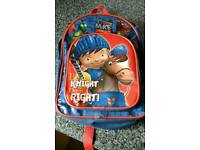 Mike the knight childs back pack