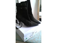 Nine West Suede Ankle Boot