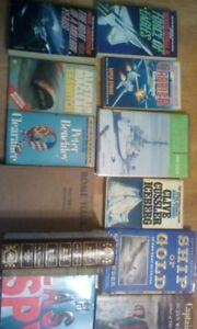 Books - many war related books