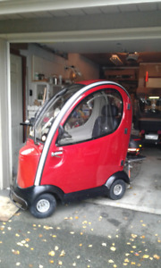 Shoprider Flagship Mobility Scooter (red)