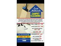 Carpet cleaning service 07938757927