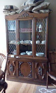 gorgeous SOLID OAK Dining room set Peterborough Peterborough Area image 2