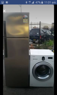 FREE DELIVERY SYDNEY WIDE FRIDGE AND WASHER BOTH FOR  $850-