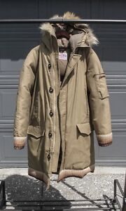 """Men's Vintage Down Jacket - """"Squire"""" by Canadian Trail"""