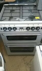 (ex display) NEW WORLD Newhome 600TSIDLm Gas Cooker - White