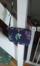 Joles hand bag navy blue small mark on strap